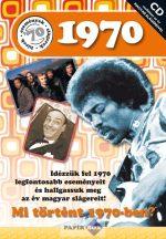 Képeslap CD-vel 1970.