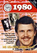 Képeslap CD-vel 1980.