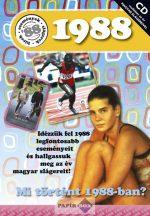 Képeslap CD-vel 1988.