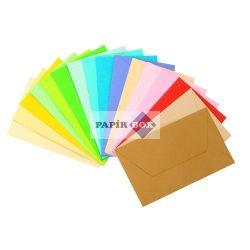 Névjegyboríték színes