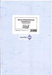 C.5230-152/A Soros iktatókönyv A/4 100 lapos