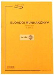 C.5230-58 Előadói munkakönyv A/4
