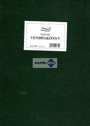 D.E.987 Szállodai vendégkönyv, 150 lapos