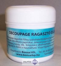 Decoupage ragasztó, Bonsai, 100ml