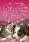 Képeslap, Valentin nap, cica-kutya