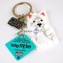 Westie kulcstartó