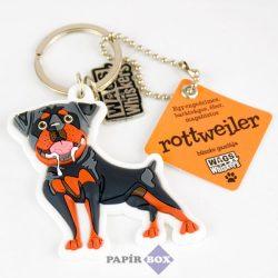 Rottweiler kulcstartó