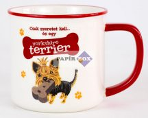 Yorkshire Terrier bögre