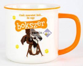 Boxer (Bokszer) bögre