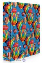 Füzetbox A/4, Hőlégballon