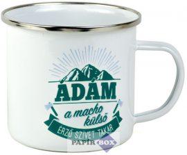 Top Pasik fémbögre, Ádám