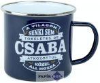 Top Pasik fémbögre, Csaba