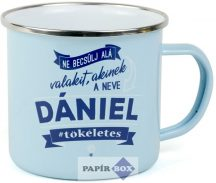 Top Pasik fémbögre, Dániel