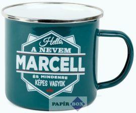 Top Pasik fémbögre, Marcell