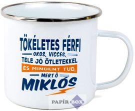 Top Pasik fémbögre, Miklós