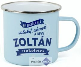 Top Pasik fémbögre, Zoltán