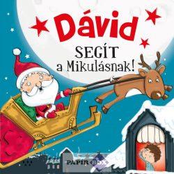 Névre szóló mesekönyv, Dávid