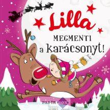 Névre szóló mesekönyv, Lilla