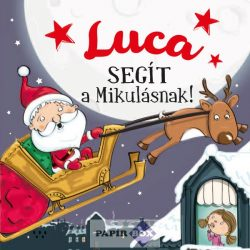 Névre szóló mesekönyv, Luca