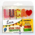 Névre szóló tortagyertya, Luca