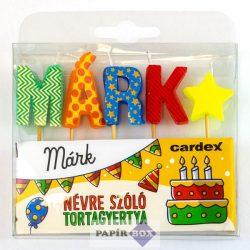 Névre szóló tortagyertya, Márk