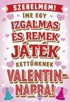 Képeslap, Valentin nap, társasjáték