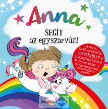 Névre szóló varázslatos mesekönyv, Anna
