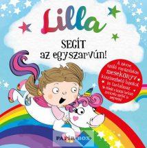 Névre szóló varázslatos mesekönyv, Lilla