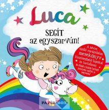Névre szóló varázslatos mesekönyv, Luca