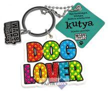 Kutyaimádó kulcstartó