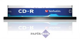 """CD-R lemez, 700MB, 52x, hengeren, VERBATIM """"DataLife"""" 10db/csg"""