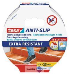 """Csúszásgátló szalag, 25 mm x 5 m, TESA """"Anti-slip"""", átlátszó"""