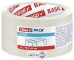 """Csomagolószalag, 48 mm x 50 m, TESA """"Basic"""", átlátszó"""