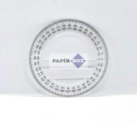 Szögmérő, műanyag 360°