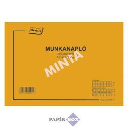 A.ERDŐ 121/V Munkanapló A/4, 25x3 példányos