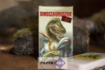 Dinoszauruszok - Ismeretterjesztő kártya