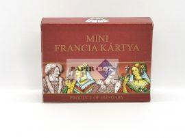 Mini francia kártya, 2x55 lapos