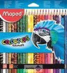 """Színes ceruza készlet, háromszögletű, MAPED """"Color"""