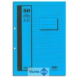 Gyűrűskönyv betét A/4, 2gyűrűs, 50 lapos, többféle