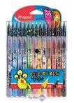 """Filctoll és színes ceruza készlet, MAPED """"Color'Peps Monster"""" 12+15 különböző szín"""
