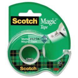 Ragasztószalag 3M Scotch, tépővel, írható cellux